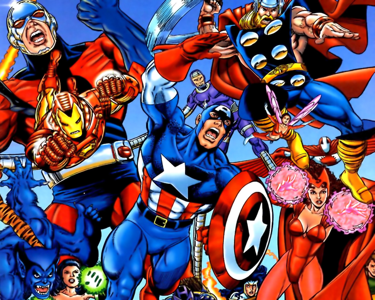 Marvel Cover Avengers Wallpapers, Photos, Pictures and Backgrounds